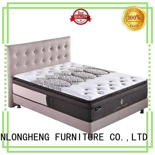 JLH compressed custom size mattress High Class Fabric for hotel