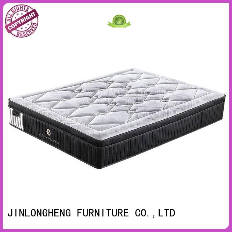JLH high class full mattress and boxspring set fabric for bedroom