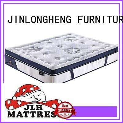 Box Top Design Anti Mite 5 Zones Pocket Spring with Wool Dacron Foam and Gel Memory Foam