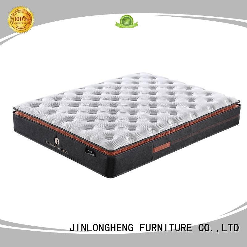 JLH hot-sale rolled up mattress in a box type with softness