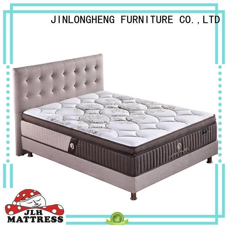 JLH anti queen mattress in a box High Class Fabric for hotel