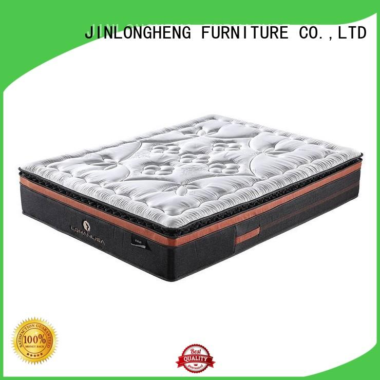 JLH Brand breathable viisco cool gel memory foam mattress topper density supplier