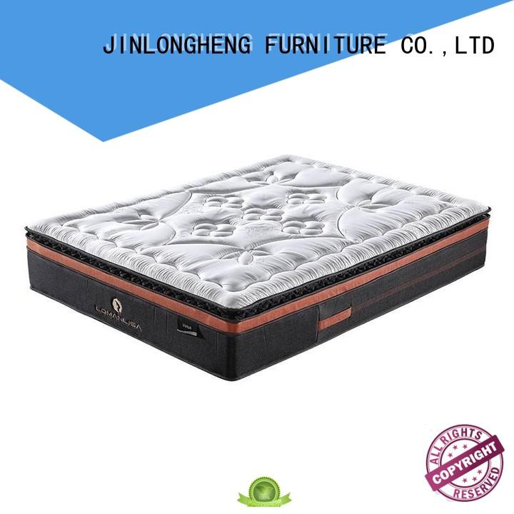 JLH Brand unique sleep natural cool gel memory foam mattress topper perfect