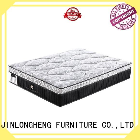 Double Layers 5 Zoned Pocket Spring Luxury Design with Convoluted Foam and High Quality Knitted Fabric