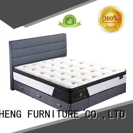 Hot bed hybrid mattress modern natural JLH Brand