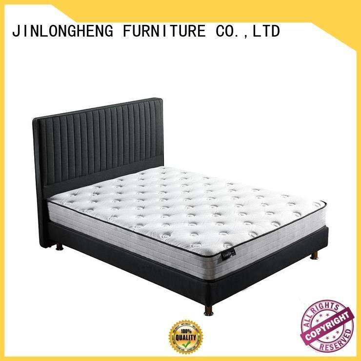 JLH Brand latex king mattress in a box top box