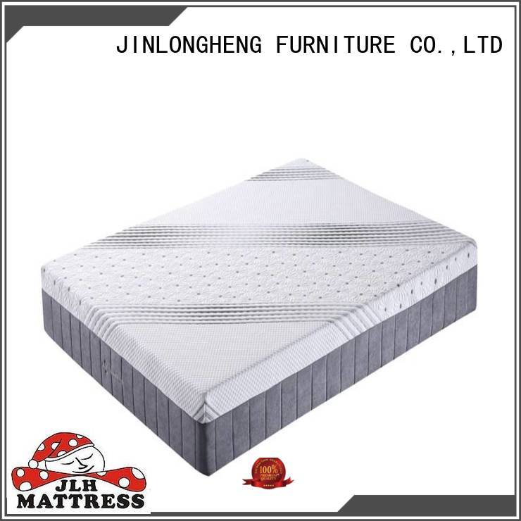 JLH compressed double mattress size certifications for guesthouse