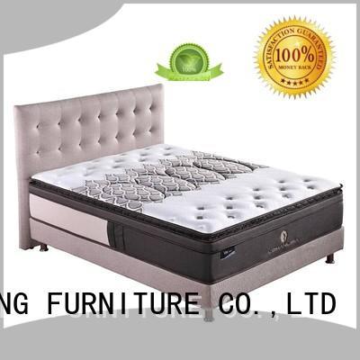 chinese professional cool gel memory foam mattress topper pocket JLH company