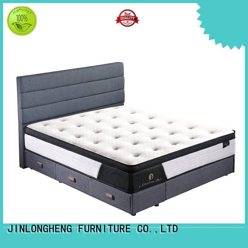 bed comfortable OEM hybrid mattress JLH