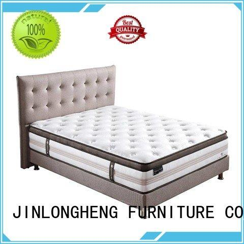 JLH breathable hybrid mattress sleeping