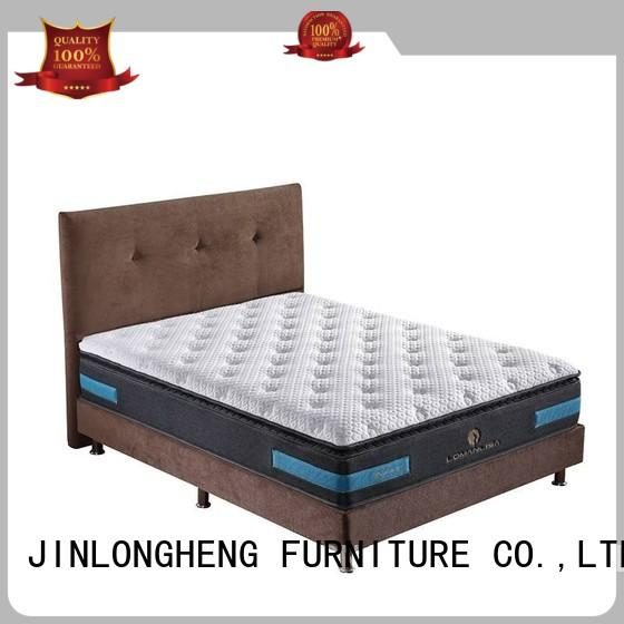 JLH luxury innerspring hybrid mattress with cheap price for bedroom