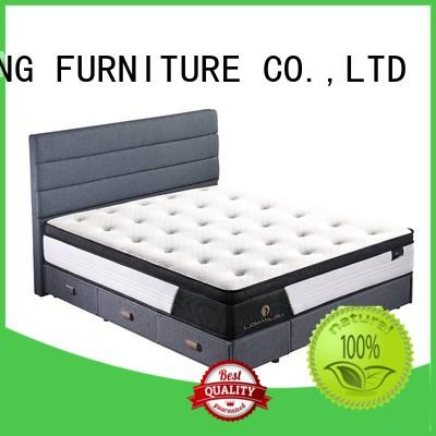JLH Brand sleeping porket mattress compressed hybrid mattress