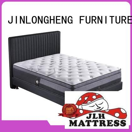 top mattress king size latex mattress by JLH company