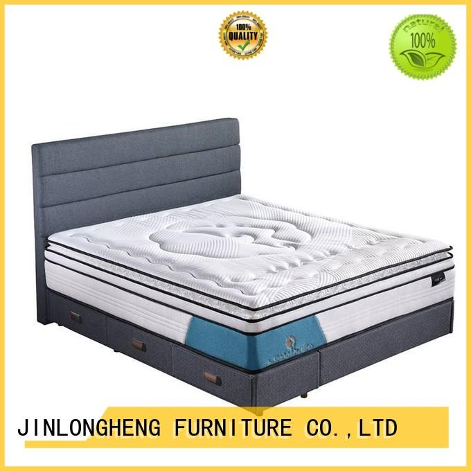 spring gel pocket compress memory foam mattress JLH Brand