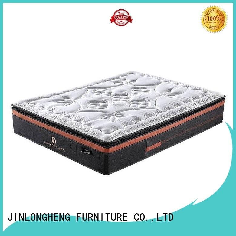 JLH Brand perfect wool cool gel memory foam mattress topper cooling