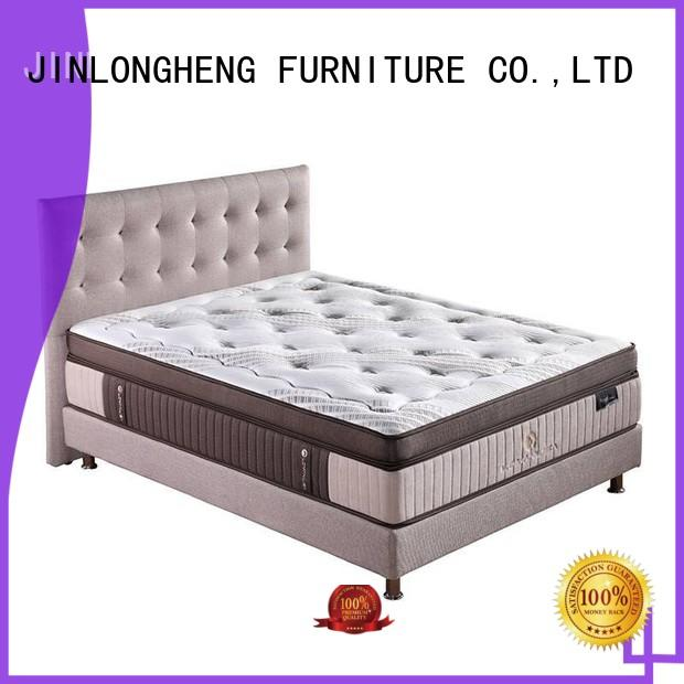 JLH raw innerspring hybrid mattress China Factory for tavern
