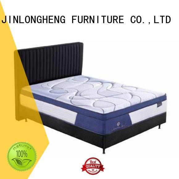 design hand latex latex gel memory foam mattress JLH Brand company