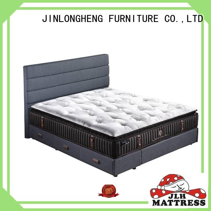 foam layers silk hand-tufted mattress JLH Brand