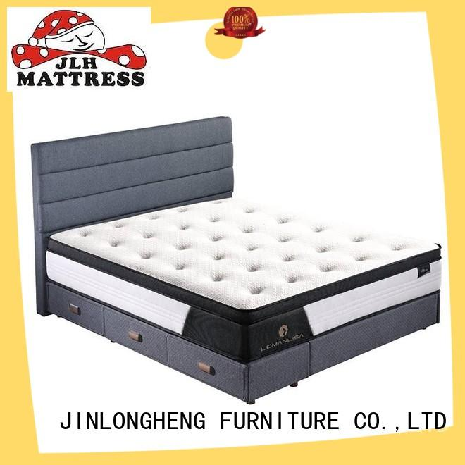 JLH industry-leading mattress shipped in a box home for home
