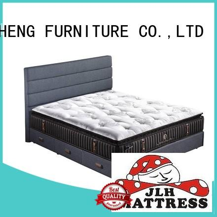 JLH Brand natural knitted quality from hand-tufted mattress