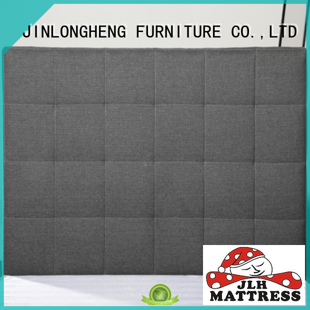 JLH upholstered bed headboard factory for guesthouse
