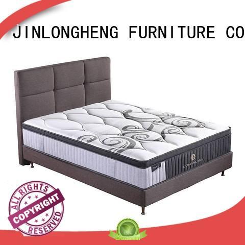 JLH Brand sleep spring packed compress memory foam mattress manufacture