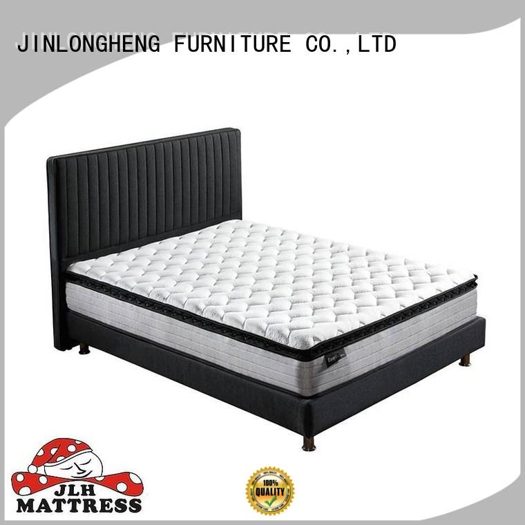 rolled natural king mattress in a box pillow JLH company