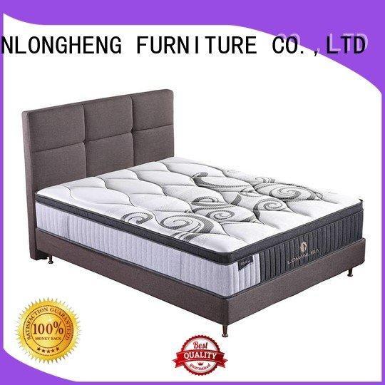 JLH Brand design selling packed cool gel memory foam mattress topper