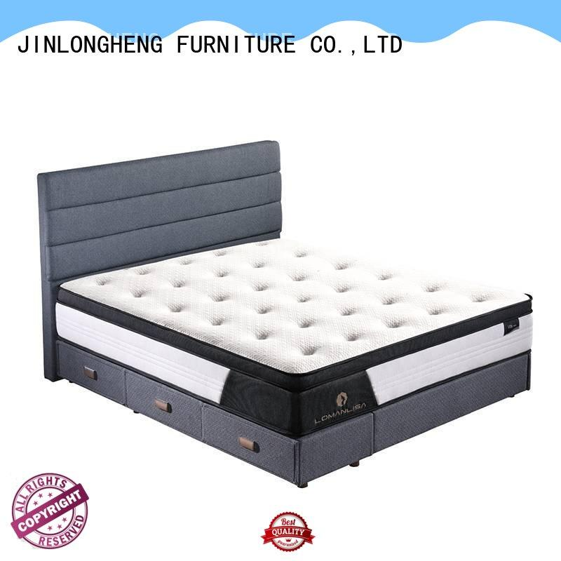 JLH breathable wool mattress topper for wholesale with softness