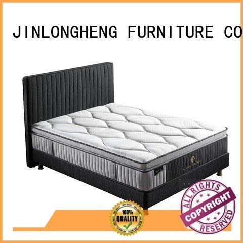 JLH Brand pocket turfted home latex gel memory foam mattress mattress