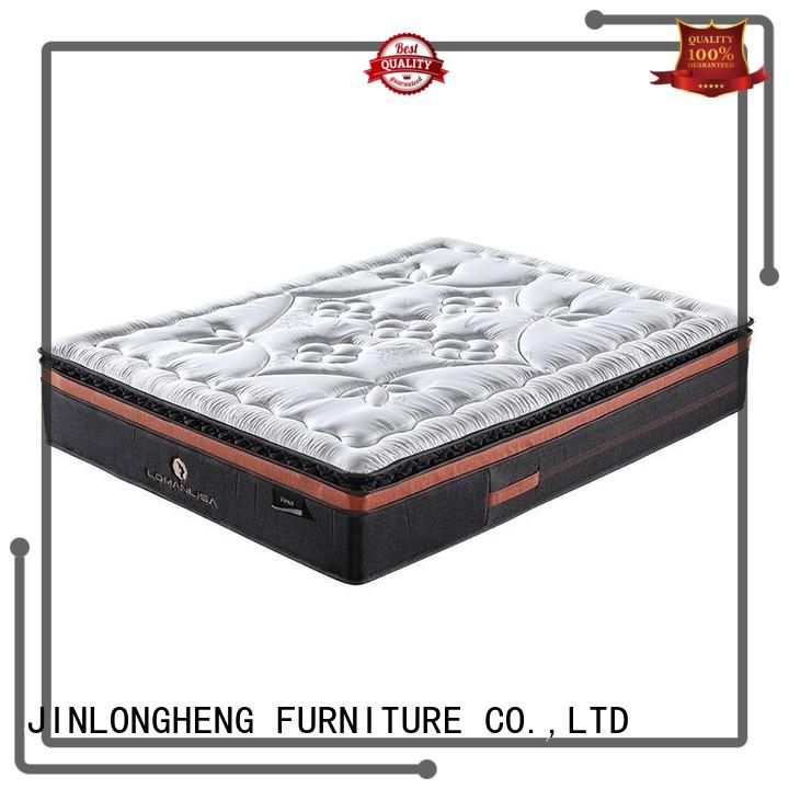 selling pocket cool gel memory foam mattress topper chinese breathable JLH Brand