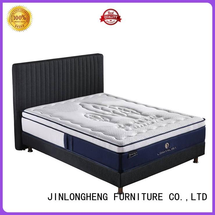 pocket density cool gel memory foam mattress topper vacuum gel JLH Brand