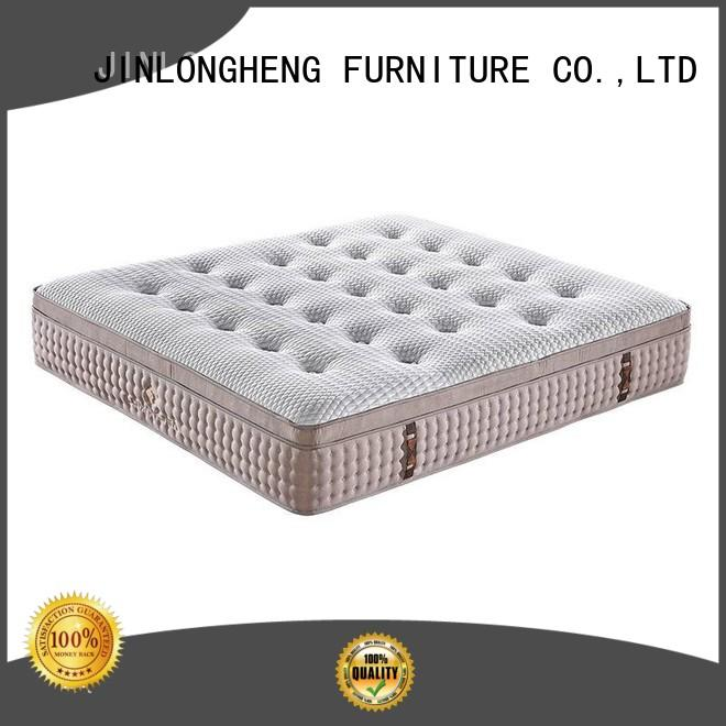 JLH compressed mattress shipped in a box for bedroom