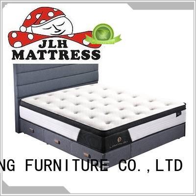 middle compressed sponge sealy posturepedic hybrid elite kelburn mattress JLH Brand
