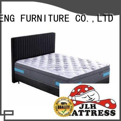 luxury bread top JLH Brand king size latex mattress factory