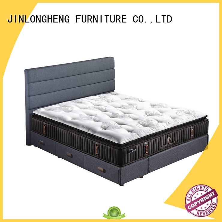 JLH high class innerspring hybrid mattress with Quiet Stable Motor with softness