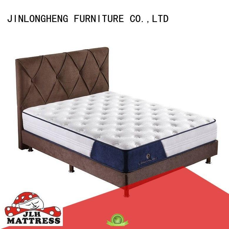 quality green foam JLH Brand innerspring foam mattress