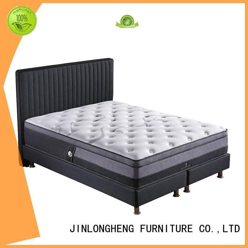 luxury sleep top latex gel memory foam mattress JLH Brand